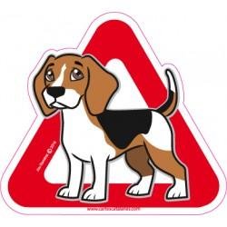Beagle on board - Stickers