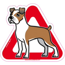 Boxer on board - Stickers