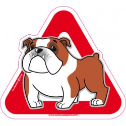 Bulldog on board - Stickers