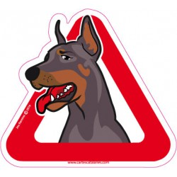 Doberman on board - Stickers