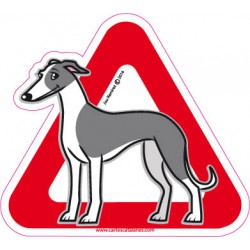Greyhound on board - Stickers