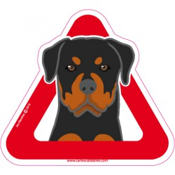 Rottweiler on board - Stickers