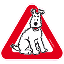 Foxterrier on board - Stickers