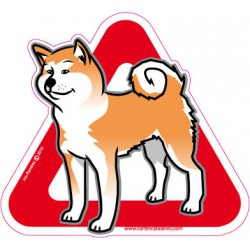 Akita on board - Stickers