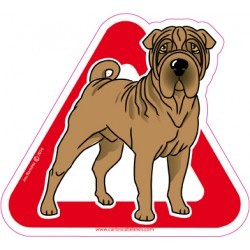 Shar-pei on board - Stickers