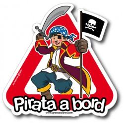 Pirata a bord (menino) -...