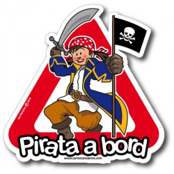 Pirata a bord (girl) -...