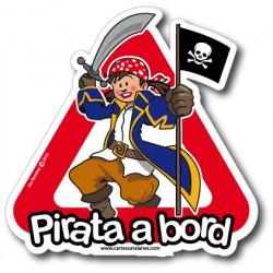 Pirata a bord ( ragazza ) -...
