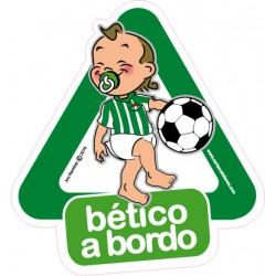 Bético a bordo - Stickers