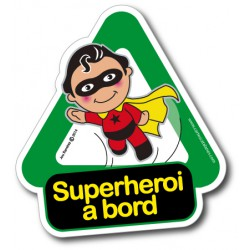 Superheroi a bord - Stickers