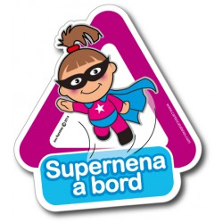 Supernena a bord- Stickers