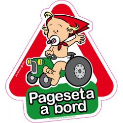 Pageseta a bord - Stickers