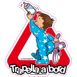 Trapella a bord - Stickers...